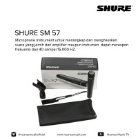 Shure SM 57 Musical Instrument & Vocal Microphone