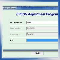 Resetter / Reseter / Reset Printer Epson L120