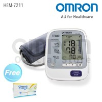 OMRON Tensimeter Blood Pressure Monitor HEM-7211