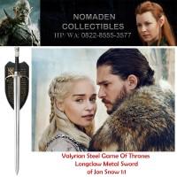 Valyrian Steel Game Of Thrones Longclaw Metal Sword Of Jon Snow