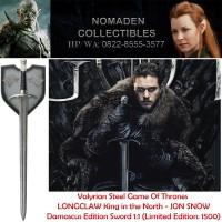 Valyrian Steel Game Of Thrones Longclaw Damascus Sword Of Jon Snow GOT