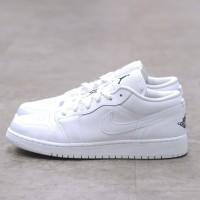 Nike Air Jordan 1 Low Triple White 100% Authentic