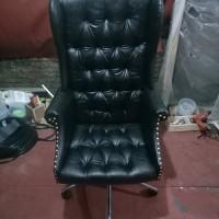 PRODUSEN kursi kantor mewah&murah,,konsultan,jaksa,dewan,dirut,direksi - Merah