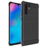 Huawei P30 / P30 Pro / P30 Lite Soft Case Brushed Carbon Anti Knock