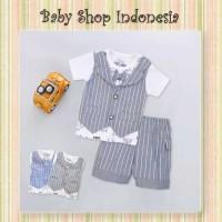Setelan Baju Anak Murah Baju Pesta Anak Rompi Dasi Anak Animal Stripe