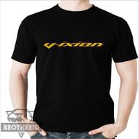 Kaos Motor Vixion Logo Gold Emas