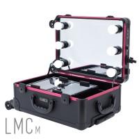 LAMICA Lighted Makeup Case - Medium Tas Koper Makeup