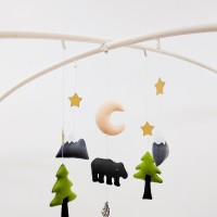 Play Mobile + Hanging Toys Forest