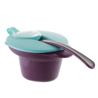 Tommee Tippee Mangkok Makan Cool and Mesh Bowl Purple - 446702