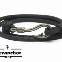 GELANG TALI PARACORD / TALI PRUSIK FREEANCHOR SPLIT WITH TAIL FISH