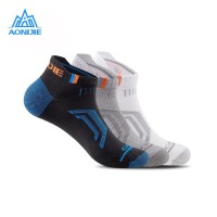 Aonijie E4101 Running Socks 3 PAIR - Kaos kaki lari outdoor - MEN