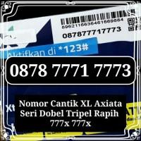 Nomor Cantik XL 0878 7771 7773 Dobel Tripel 777