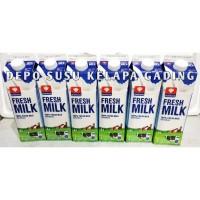 Susu Diamond Full Cream 6 pcs karton | Diamond Fresh Milk segar plain