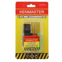 Kenmaster Obeng Set mini 6 pcs