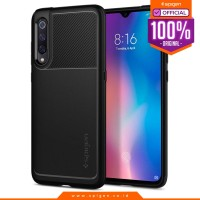 Case Xiaomi Mi 9 Spigen Rugged Armor Softcase Carbon Fiber Matte Black