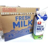 Susu Diamond Fresh Milk 12 pcs karton | Diamond FreshMilk segar plain