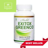 Pelangsing Badan Herbal / Exitox Green Coffee Bean / ORIGINAL 100%