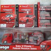 Burrago Shell Ferrari V-Power Passion Set Series