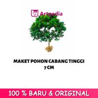 Maket Pohon Cabang / Diorama Pohon / Miniatur Pohon Tinggi 7 cm