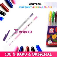 Sakura Gelly Roll Pen Fine Point Regular Colors Set 12 Colour