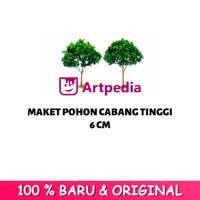 Maket Pohon Cabang / Diorama Pohon / Miniatur Pohon Tinggi 6 cm
