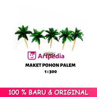 MAKET Pohon Palem / Diorama Palm / Miniatur Pohon Palem 1 : 300
