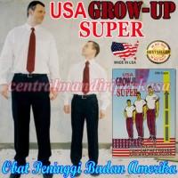 VITAMIN PENAMBAH TINGGI BADAN GROW UP SUPER USA ORIGINAL OBAT PENINGGI