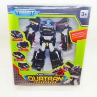Tobot Quatron 4 in 1 (Robot Menjadi 4 Jenis Mobil Polisi)