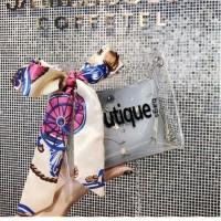 Double Layer Small Transparant Sling Bag Tas selempang Wanita