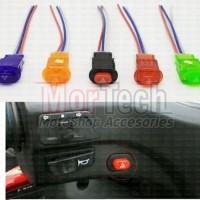 Saklar Tombol Switch On OFF Lampu Motor Vario Nmax Aerox PCX Universal