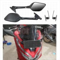Kaca Spion Sepion Variasi R25 Pnp All New PCX Lokal 150 + Bracket