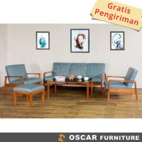 Oscar Furniture - Sofa Set Monza - Sofa Minimalis