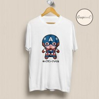 Kaos Movie Avengers Captain America Civil War Chibi TSHIRT [Eksklusif]