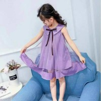 Dress anak/gaun anak/dress casual anak/ dress tile anak