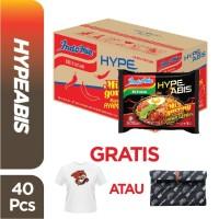 1 Dus 40 Pcs - Indomie HypeAbis Ayam Geprek + FREE Baju atau Pouch