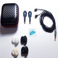 Earbuds Earphone Vido VR2 With MMCX Non Mic