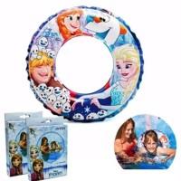 Ban Renang Pelampung Frozen Disney 51cm Swim Ring - INTEX 56201