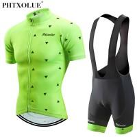 Terbaruuu Phtxolue Bersepeda Pakaian Set Sepeda Pakaian Bernapas