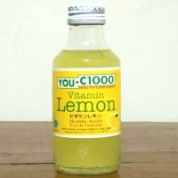 YOU C1000 Vitamin Lemon / You C 1000 Lemon - 140 ml (Harga Satuan)