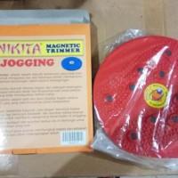 Best Magnetic Trimmer Jogging Body Plate / Waist Twisting - Biru