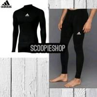 Best Paket Celana Baselayer Manset Nike Adidas Renang Diving Gym