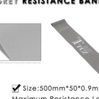 Best Tension Resistance Band (Grey) Exercise Loop Crossfit Fitness Gym