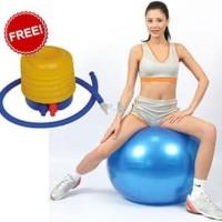 Best BONUS Pompa angin Gym ball size 65cm Bola fitness Yoga ball