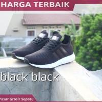 Sepatu Adidas Yeezy Boost Man Pria Cowo Cowok Terbaru Full Hitam Murah