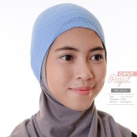 Ciput Rajut (BIRU MUDA) Original by Hijab Hayuri