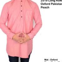 Dijual Kemeja Lengan Panjang Baju Koko Pakistan / Kemeja Lengan