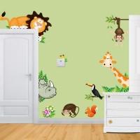 Baby Cartoon Animal Wall Sticker Living Room Home Decoration