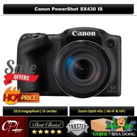 Canon PowerShot SX430 IS - Resmi