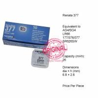 Button Cell - Renata - 377 (SR626SW)
