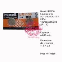 Button Cell - Maxell - LR1130